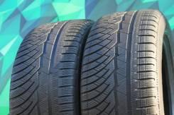 Michelin Pilot Alpin 4. зимние, без шипов, 2015 год, б/у, износ 10%