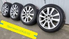 """235-45-18, оригинал Lexus GS с датчиками, в наличии. 8.0x18"""" 5x114.30 ET45 ЦО 60,1мм."""