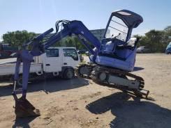 Komatsu PC28. , 3х тонный экскаватор, на железных гусках, без пробега