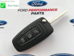 Корпус ключа. Ford Focus, BK, BL, BM, CB8 Ford Fiesta Ford Mondeo, BD, BE, BG, CD391 Двигатели: ECOBOOST, IQDB, JQDA, JQDB, JTDA, JTDB, M1DA, M2DA, M8...