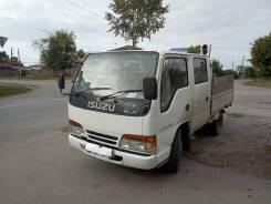 Isuzu Elf. Продается грузовик 2х каб.4вд. с пониженной передачей отличное сост., 3 000куб. см., 1 500кг., 4x4