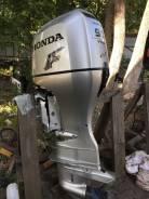 Honda. 90,00л.с., 4-тактный, бензиновый, нога X (635 мм), 2013 год