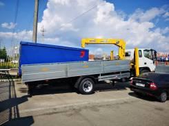 JAC N120. грузовой с КМУ Tadano Z303, 3 800куб. см., 6 998кг., 4x2