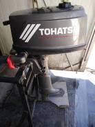 Tohatsu. 5,00л.с., 2-тактный, бензиновый, нога S (381 мм), 1989 год год