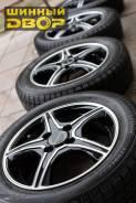 """Диски Bridgestone 14 4-100 c шинами Bridgestone 155 65R14 без пробега. 4.5x14"""" 4x100.00 ET45 ЦО 73,1мм."""