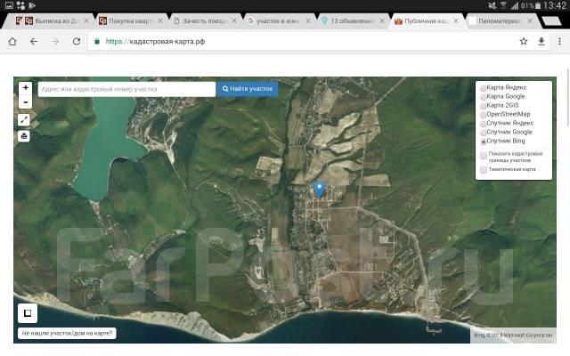 З/у в Южной Озереевке 25x25м ровный, удобное расположение, видно море. 625кв.м., собственность, электричество, от частного лица (собственник)