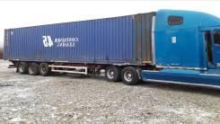 Renders. Контейнеровоз с контейнером 45 футов, 39 000кг.