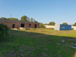 Аренда земельного участка с капитальным зданием. Большой. Камень. Фото участка