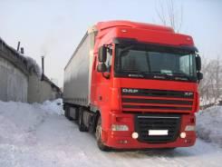 DAF XF105. Продам грузовой тягач DAF с п/п в сцепке, 12 902куб. см., 20 000кг., 4x2. Под заказ