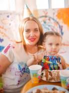 День рождения для малышей. Умный праздник - свободное рисование.