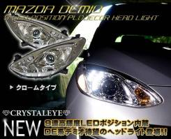 Фары Mazda Demio DEPO LED DE3/DE5 (2007-2014)