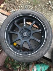 "Продам комплект колёс 215/45/R17 на дисках Lehrmeister LM Sport. 7.5x17"" 5x114.30 ET50 ЦО 73,0мм."