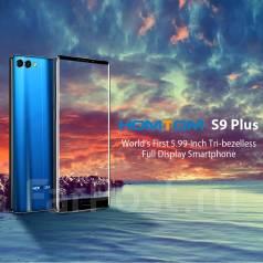 Homtom S9 Plus. Новый, 64 Гб, Черный, 4G LTE, Dual-SIM