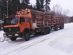 Beifang Benchi. Продается грузовик лесовоз с прицепом, 9 000куб. см., 20 000кг.