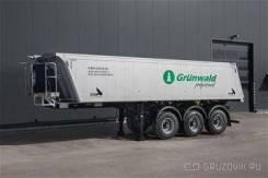 Grunwald. Самосвальный полуприцеп 27 м. куб. алюминиевый новый наличие, 32 250кг.