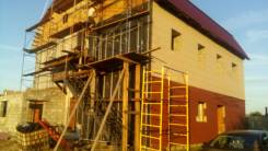 Установка и демонтаж сайдинга, алюкабонда, кассетных панелей.