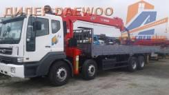 Daewoo Novus. 19 тонн c КМУ Z-ton 1205 (12тонн) - 2018год в Москве, 10 964куб. см., 19 000кг., 8x4