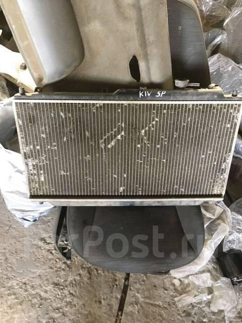 Радиатор охлаждения двигателя. Kia Mentor Kia Spectra, LD Kia Shuma Kia Sephia Двигатель S6D