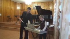 Обучение игре на синтезаторе. ДМШ№1.