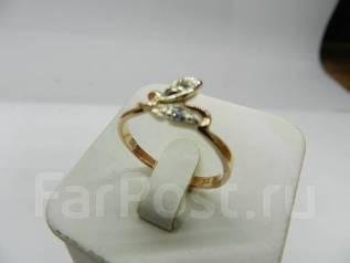 2313bd1fd56d Кольцо с бриллиантами золото 583 проба. Арт.601. Размер 18 ...