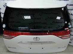 Накладка на дверь багажника. Toyota Tarago, ACR50, GSR50 Toyota Previa, ACR50, AHR20, GSR50 Toyota Estima, ACR50, ACR50W, ACR55, ACR55W, AHR20, AHR20W...