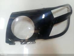 Защита фар (Очки) SAFARI/PATROL Y61 (черная окантовка)