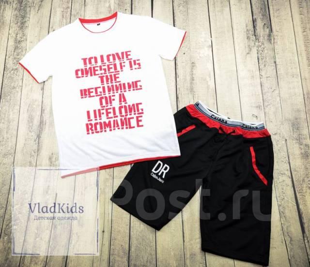 f4b547009b21 Спортивный костюм (футболка + шорты) на мальчика, в наличии ...