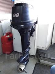 Tohatsu. 18,00л.с., 2-тактный, бензиновый, нога S (381 мм), 2002 год год