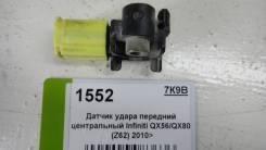 Датчик удара передний центральный Infiniti QX56/QX80 (Z62) 2010> (985811LA0A 98581-1LA0A)