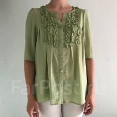 Зелёная блузка (б/у)