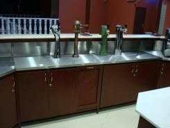 Барные стойки для баров и кафе на заказ по индивидуальому проекту