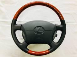 Руль. Toyota Land Cruiser Cygnus, UZJ100W Lexus LS400, UCF20 Lexus GX470, UZJ120 Lexus LX470, UZJ100 Lexus LX450, FJZ80, FZJ80 Двигатели: 2UZFE, 1UZFE...