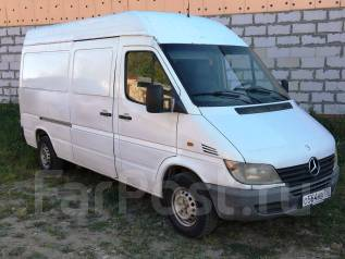 Mercedes-Benz Sprinter. 2002 г. в. 82 л. с. г/п 900 кг, 2 200 куб. см., 900 кг.