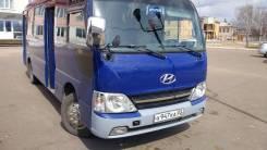 Hyundai County. Продаю надежный автобус, 26 мест, С маршрутом, работой