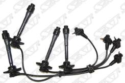 Провода высоковольтные TOYOTA CALDINA #T19# 92-02 / RAUM EXZ10 / 15 97-03 4 / 5E-FE (квадрат. резин.) Sat