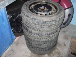 """Продам комплект колес 195/65/15 на дисках 5х100. 6.0x15"""" 5x100.00 ET45 ЦО 54,0мм."""