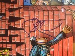 Виниловая пластинка Snoop Doggydogg с его автографом(Оригинал! )