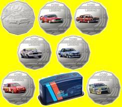 * Австралия набор 7 монет по 50 центов 2018 Ford Collection * Форд