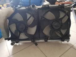 Радиатор охлаждения двигателя. Subaru Legacy B4, BE9, BE5, BEE Двигатели: EJ25, EJ20, EZ30