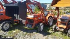 Kubota L1-195. Трактор 19 л. с., 4wd, фреза, погрузчик, Реверс, 19 л.с.