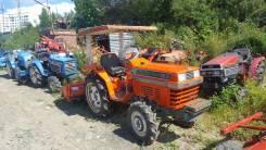 Kubota L1-185. Трактор 18 л. с., 4wd, фреза, Реверс, навеска на 3 точки, 18 л.с.