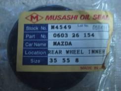 Сальник привода. Mazda B-Series, UF Mazda J100, SD2ATF, SD5ATF, SDEATF, SR2AMF, SR2AVF, SR5AMF, SR5AVF, SREAVF, SRSAVF Mazda Bongo Brawny, SD29T, SD2A...
