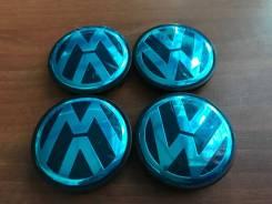 "Колпаки на цо на литые диски для Volkswagen новые 4 шт. D56/51 (Н6). Диаметр 17"""", 1шт"