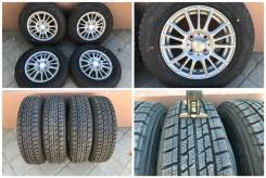 "155/80R13 Good Year ice navi zea2 зима 2015 г. - 95% с литьем 4-100. 5.0x13"" 4x100.00 ET38"