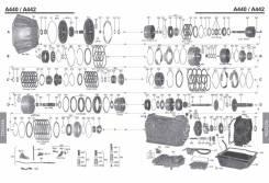 АКПП Тойота Ленд Круизер 1HD, 1HZ, 2UZ-FE, 3FE А440, А442 В Разбор