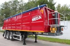 MEGA. Полуприцеп самосвальный стальной mega 35 м3