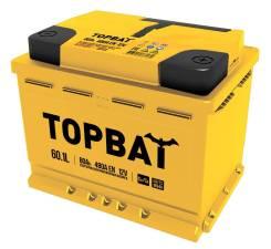 Topbat. 60А.ч., Обратная (левое), производство Россия
