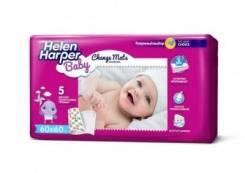 Пеленки детские впитывающие Helen Harper Baby 60*60, 5шт. 5шт