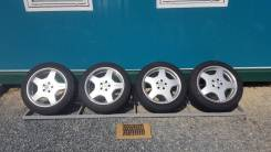 "Комплект колёс AMG R18 на Mercedes-Benz W140. 8.5/9.5x18"" 5x112.00 ET44/46"