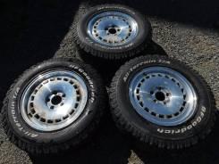 Три колеса от Делики 16*7+35 5*114,3+BFGoodrich All-Terrain T/A 225/70. 5x114.30 ET35